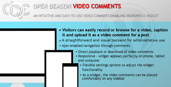 CodeCanyon Open Beacon Video Comments for WordPress 10428482