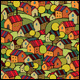 3 Cartoon Village Seamless Pattern - GraphicRiver Item for Sale