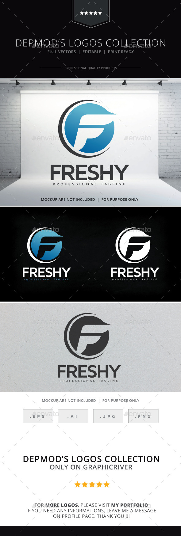 GraphicRiver Freshy Logo 10534827