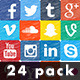 Social Media Hand Drawn Icons Pack