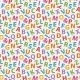 Colorful Letter Pattern - GraphicRiver Item for Sale
