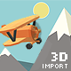 Low Poly .OBJ Importer - VideoHive Item for Sale