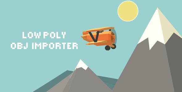 Low Poly .OBJ Importer