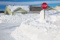 North American Winter Neighborhood - PhotoDune Item for Sale