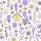Floral Spring Seamless Pattern - GraphicRiver Item for Sale