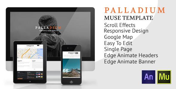 Palladium Muse Template