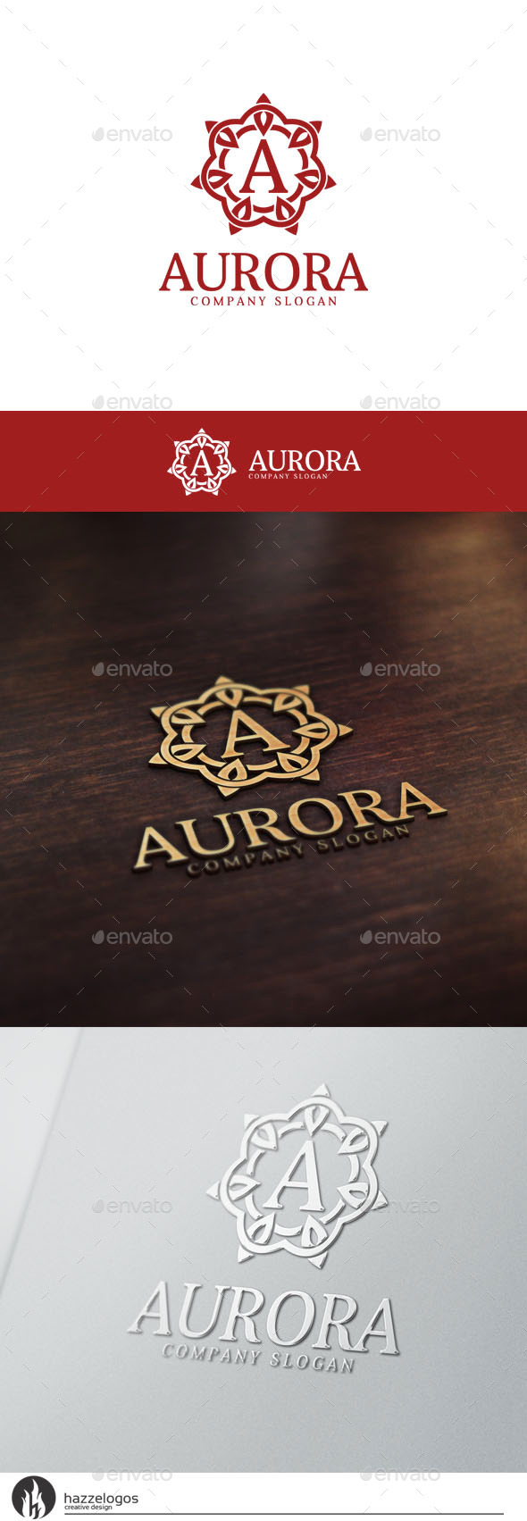 GraphicRiver Aurora Logo 10536020