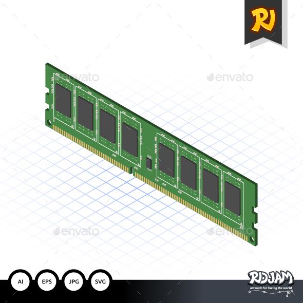 GraphicRiver Isometric RAM 10536070