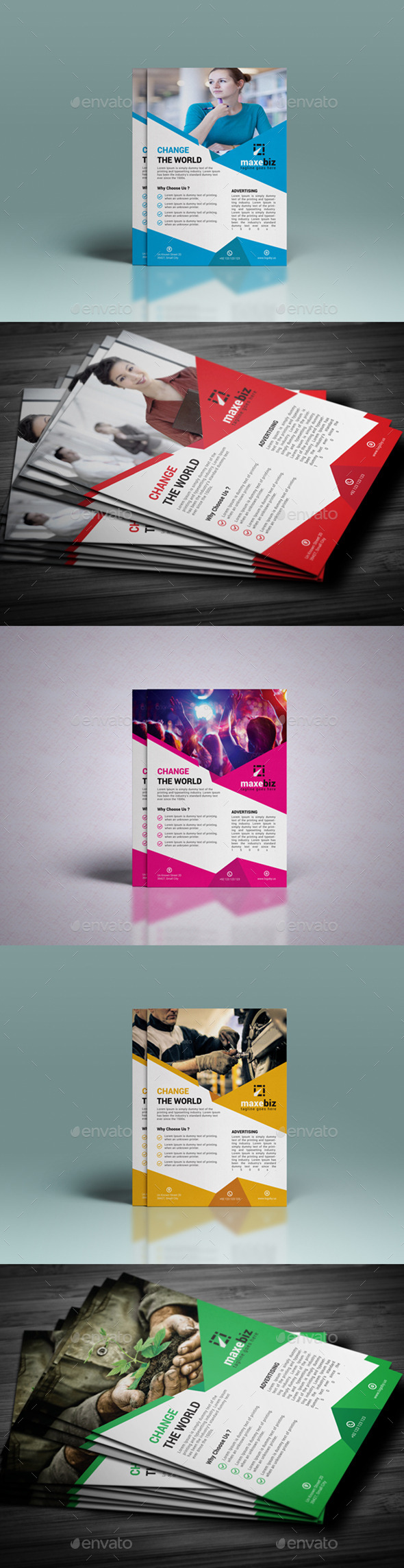 GraphicRiver Creative Corporate Flyer 10536078