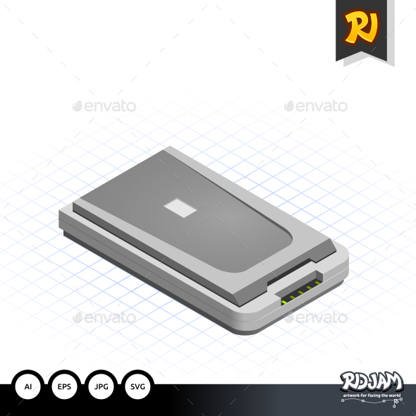 GraphicRiver Isometric Scanner 10536150
