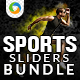 Sports Sliders Bundle - 3 designs - GraphicRiver Item for Sale