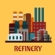 Flat Industrial Refinery - GraphicRiver Item for Sale