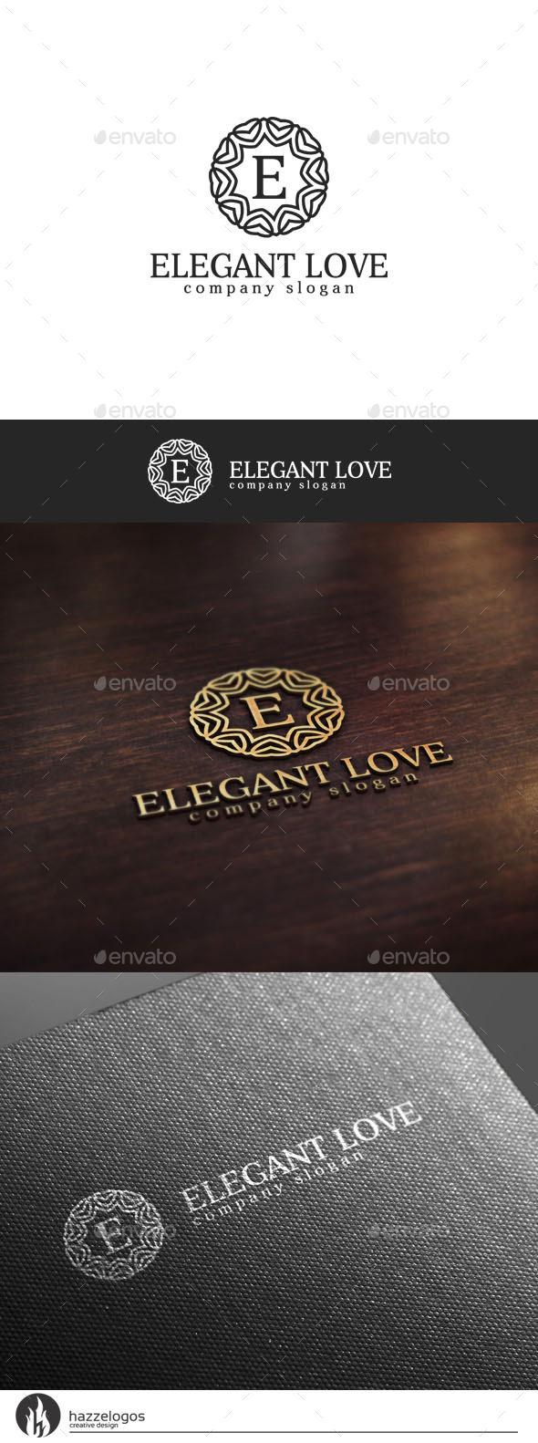 GraphicRiver Elegant Love V2 Logo 10536664