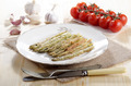 baked breen asparagus on a plate - PhotoDune Item for Sale