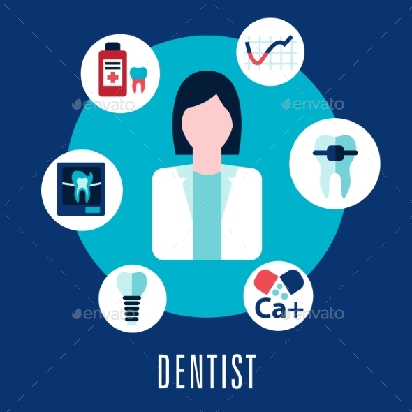 GraphicRiver Dentist and Dentistry Concept 10536797