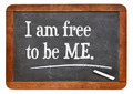 I am free to be ME - PhotoDune Item for Sale