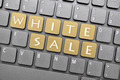 White sale key on keyboard - PhotoDune Item for Sale