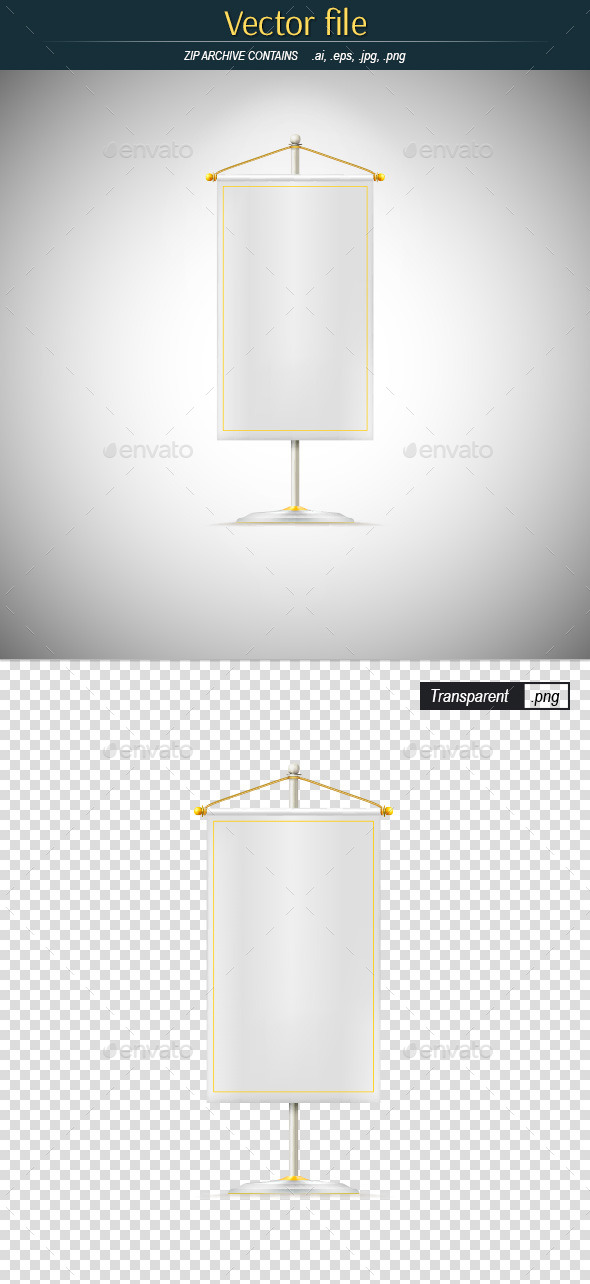GraphicRiver Pennant on the Rack 10537394