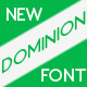 Dominion typeface - GraphicRiver Item for Sale