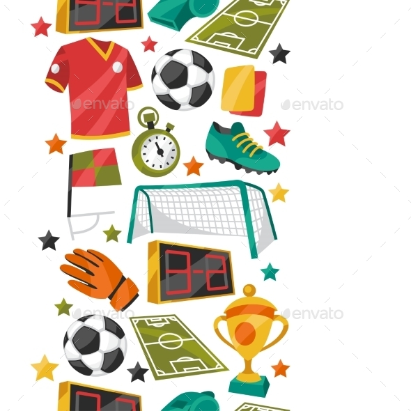 GraphicRiver Sports Pattern 10537533