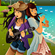 Teenage Girls Singing and Playing Guitar - GraphicRiver Item for Sale