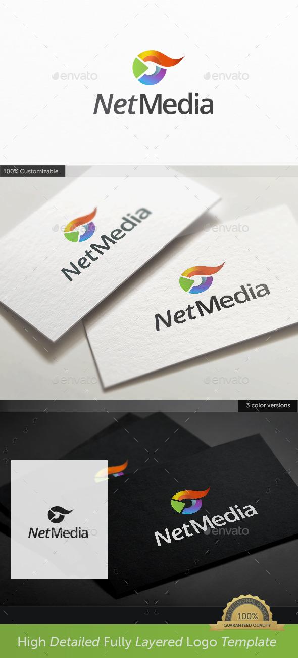 GraphicRiver Tv Play Media Logo 10538122