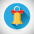 Bell with Ribbon Bow Icon  Vector - PhotoDune Item for Sale