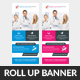 Medical Health Rollup Banners - GraphicRiver Item for Sale