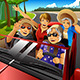 Elderly Woman in a Car - GraphicRiver Item for Sale