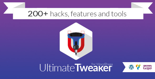 CodeCanyon Ultimate Tweaker for WordPress 10538758
