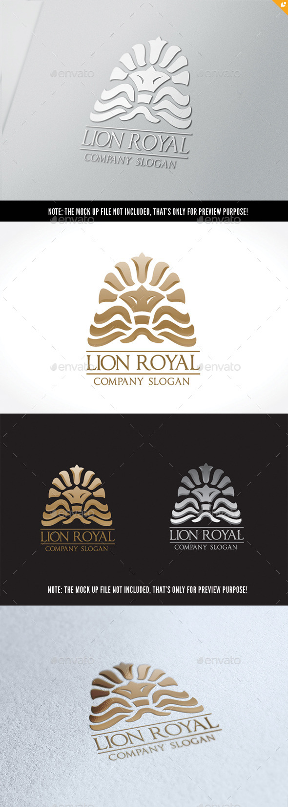 GraphicRiver Lion Rayal 10538822