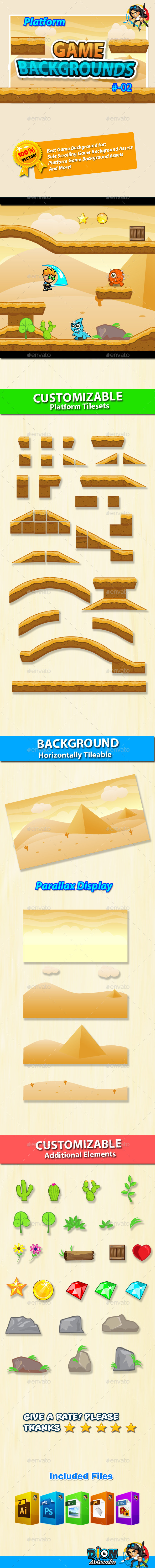 GraphicRiver Game Background Platform Tilesets 02 10538940