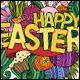 Easter Doodles Illustration - GraphicRiver Item for Sale