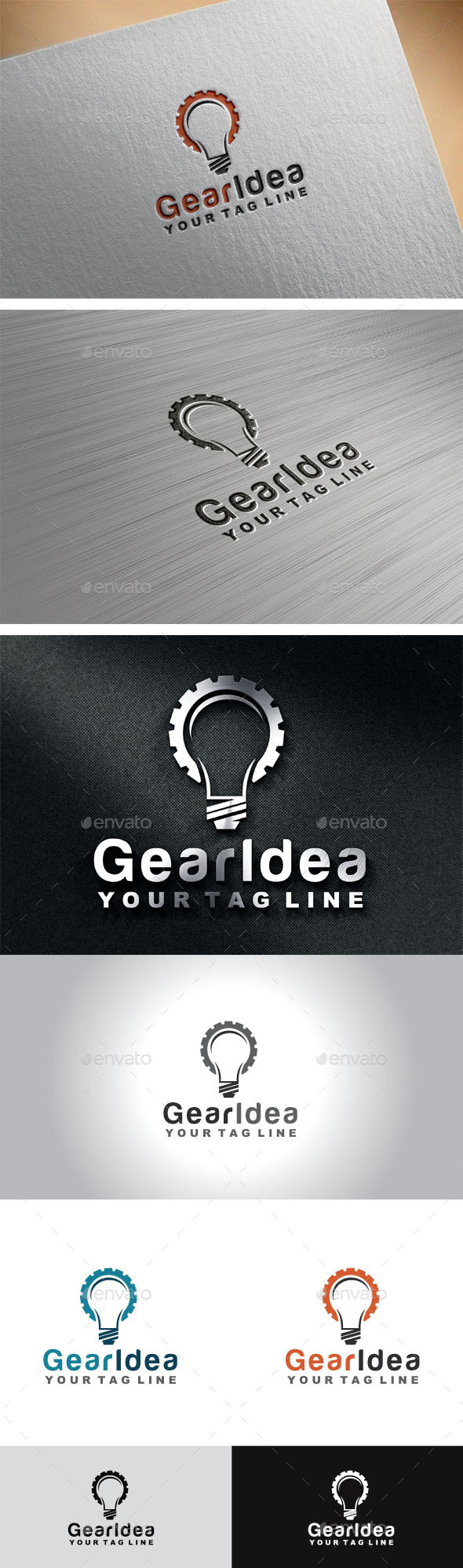 GraphicRiver Gear Idea 10539466