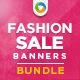 Fashion Sales Banners Bundle - 6 designs - GraphicRiver Item for Sale