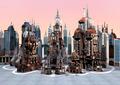 Futuristic City  - PhotoDune Item for Sale