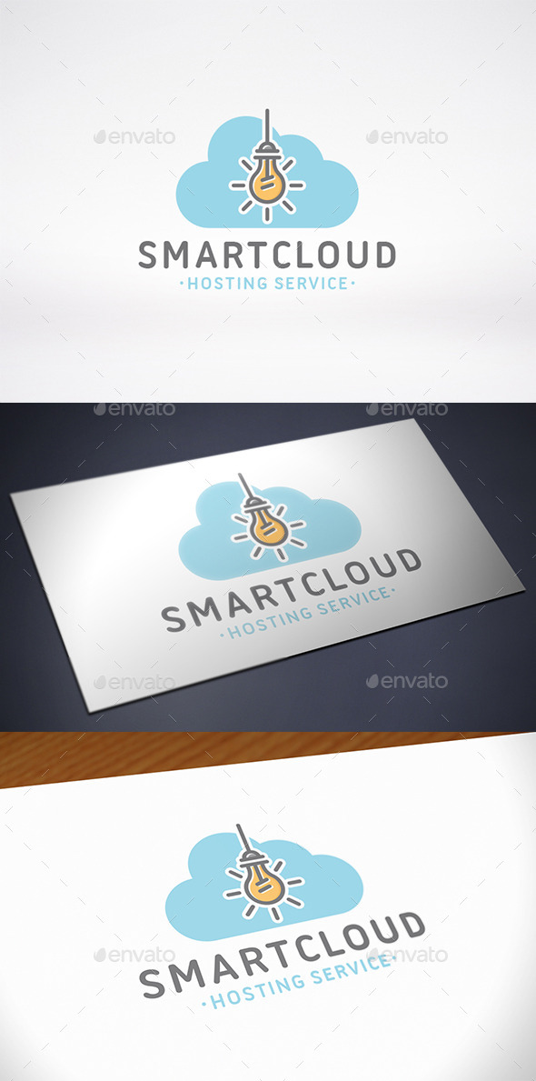 GraphicRiver Cloud Idea Logo Template 10539823