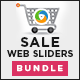 Sales Sliders Bundle - 3 Designs - GraphicRiver Item for Sale
