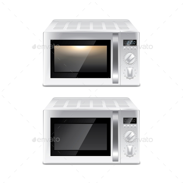 GraphicRiver Microwave Oven 10539844