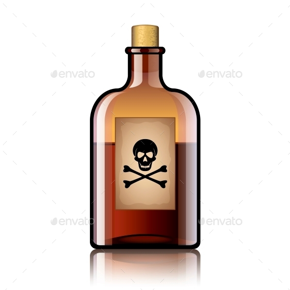 GraphicRiver Poison Bottle 10539861