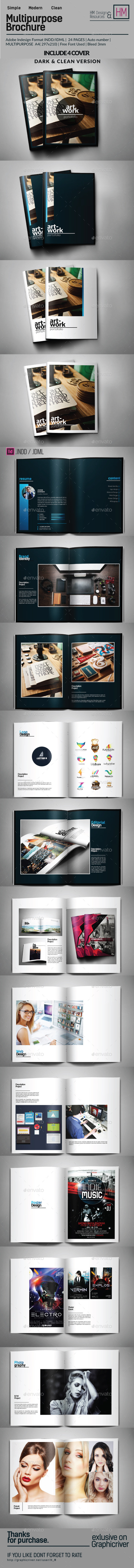 GraphicRiver Portfolio Brochure Template 10539879