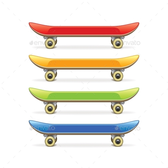 GraphicRiver Skateboard 10540153