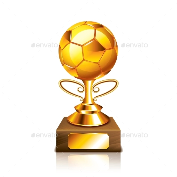GraphicRiver Golden Ball Figurine 10540155
