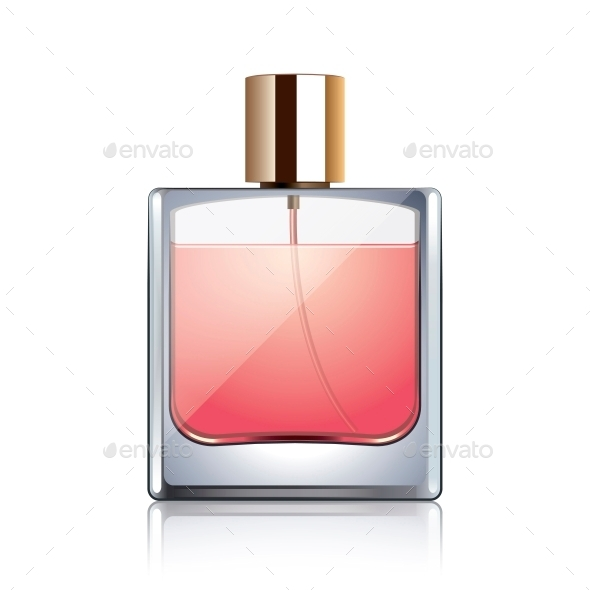 GraphicRiver Perfume Bottle 10540156