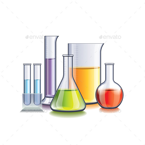 GraphicRiver Laboratory Glassware 10540198