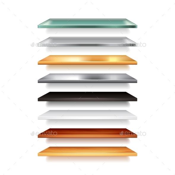 GraphicRiver Shelves 10540204