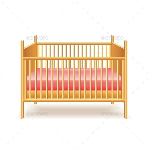 GraphicRiver Baby Bed 10540212