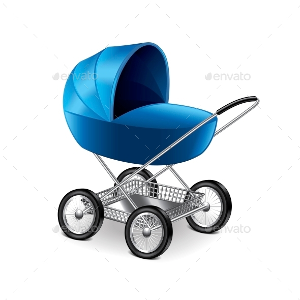 GraphicRiver Baby Stroller 10540217