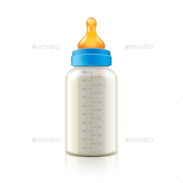 GraphicRiver Baby Bottle 10540219