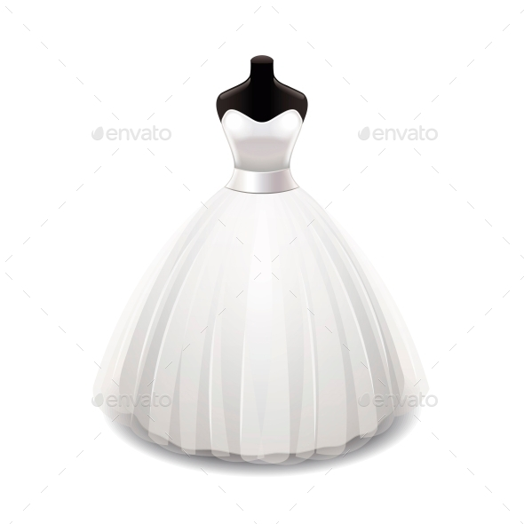 GraphicRiver Wedding Dress 10540220